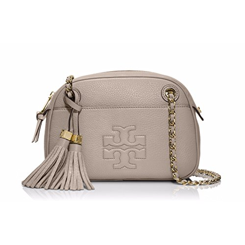 Tory Burch Thea Leather Cross-body Bag in Dust Storm
