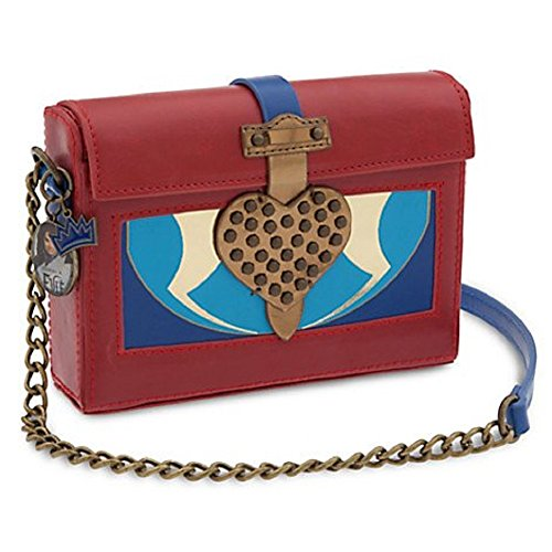 Descendants Evie Red Box Crossbody Bag, Purse