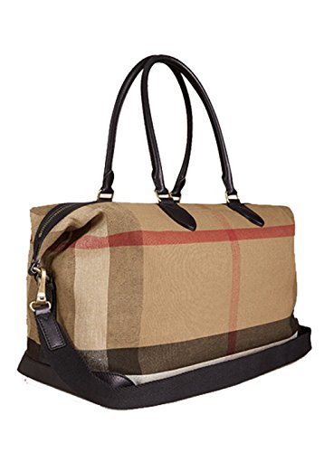 Burberry Canvas Check Holdall-39766441