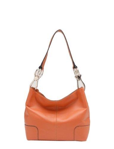 Tosca Hand Bag Handbag Purse 640 – (multiple colors), Dk Orange