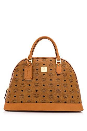MCM Heritage Line Large Bowler Handbag MWW4AVI31CO001