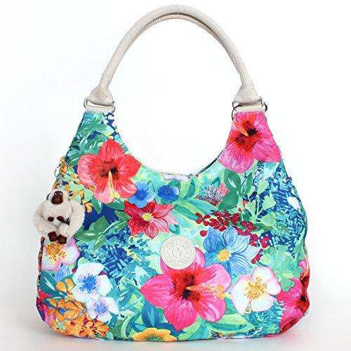 Kipling Bagsational Shoulder Bag Tropical Garden Print