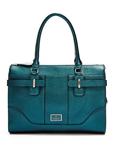 GUESS Women's Abiu Metallic Carryall
