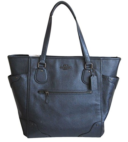 Coach Large Leather Mickie Tote Bag – #F34039