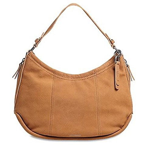 Lucky Brand Kate Tobacco Leather Hobo Handbag