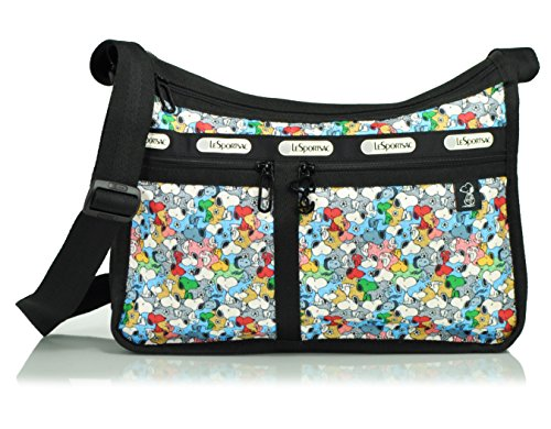 LeSportsac Deluxe Everyday Handbag, Snoopy Mini