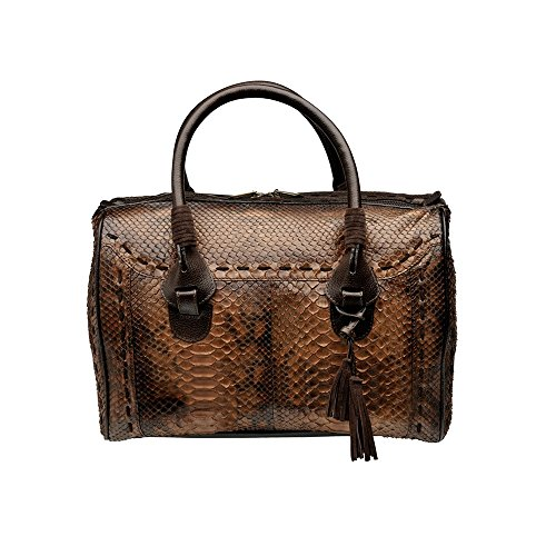 Cuadra's Python Boston Bag