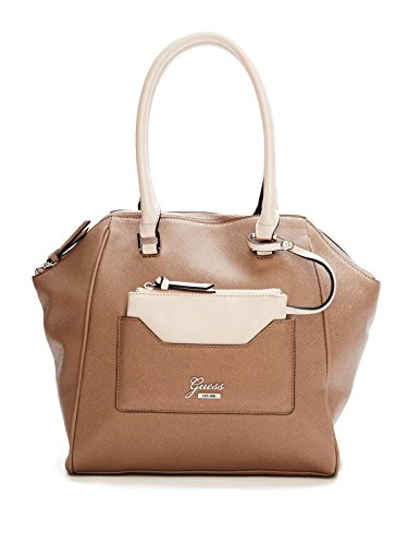 GUESS Women's Rhea Color-Blocked Satchel