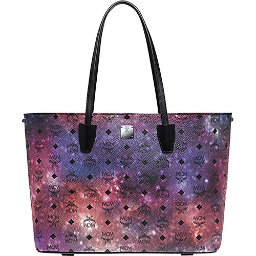 2015 AW MCM Authentic GALAXY SERIES Medium Shopper Bag_Galaxy print MWP5AVI18MB