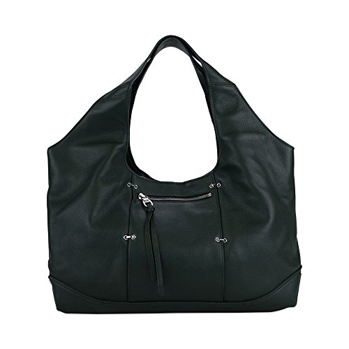 Kooba Owen Hobo Handbag Dark Forest Green F12105-14