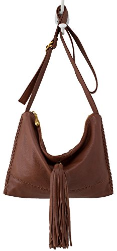 Hobo Supersoft Leather Stellar Crossbody Bag – Brandy