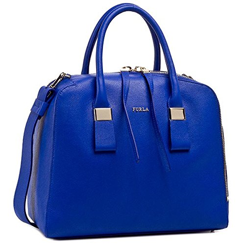Furla Twiggy Medium Satchel Ocean- One Size