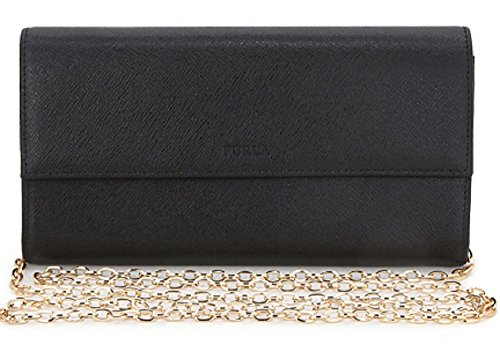 Furla Small Onyx Crossbody/Clutch Bag with Chain