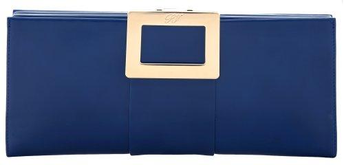 Roger Vivier Clutch Blue ROG002