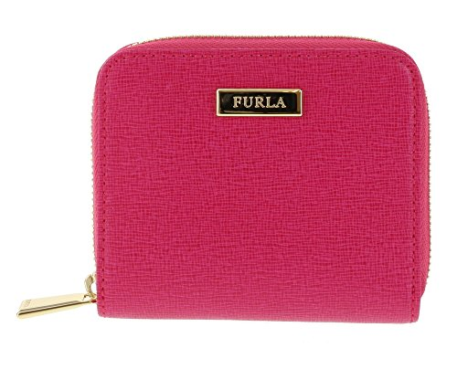 Furla Saffiano Leather Classic Zip-around Wallet in Gloss (030)