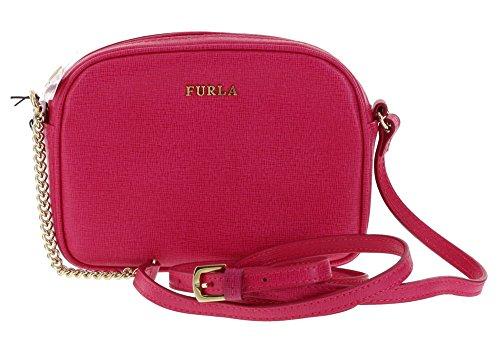 Furla Cross Body/Shoulder MIKY Saffiano Leather Handbag in Gloss 030