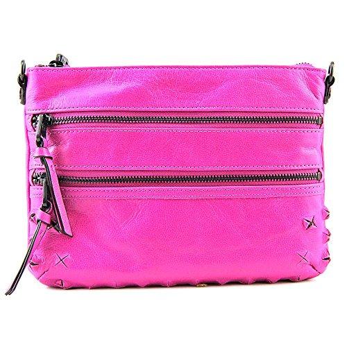 Elliott Lucca Messina Three-Zip Cross-Body Bag
