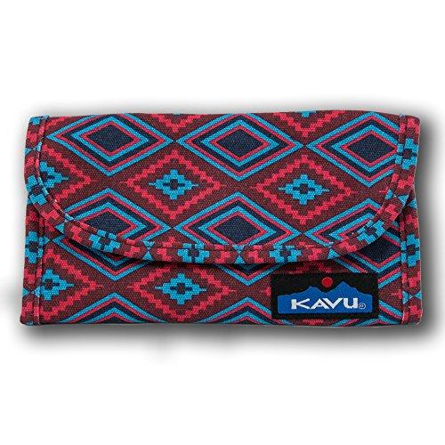 Kavu Big Spender Wallet, SW Quilt