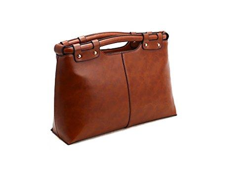 Callibag Fashion Design Womens Shoulder Cross Waterproof Tote Bag Handbag With Soft Faux Leather