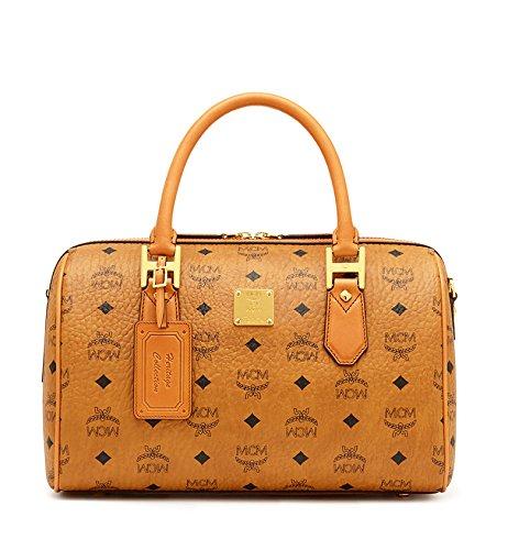 MCM Heritage Line Heritage Boston Handbag