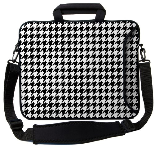 Designer Sleeves 15″ Hounds Tooth Executive Laptop Bag