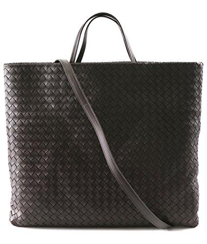 Bottega Veneta Women's Real Leather Slim Weave Style Bag
