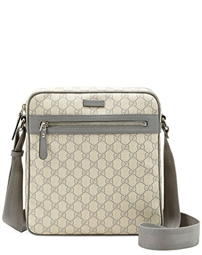 Gucci GG Plus Fabric Medium Shoulder Bag, Beige/grey 201448