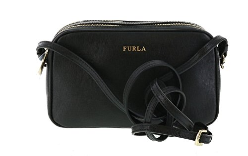 Furla Lilli Cross-Body/Shoulder Bag in Onyx (001)