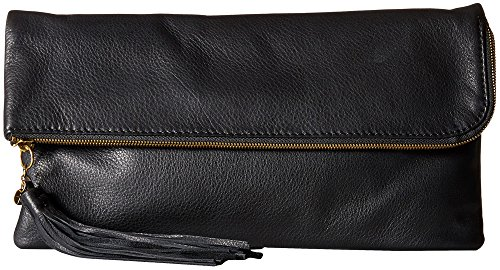 Hobo Handbags Supersoft Leather Raine Clutch – Black