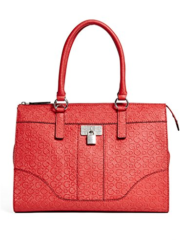 GUESS Women's Abelia Logo-Embossed Tote