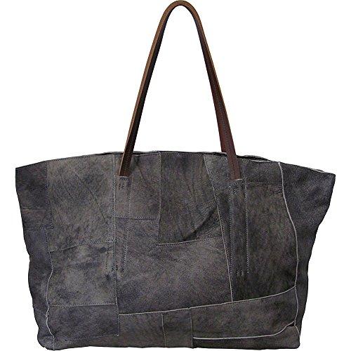 AmeriLeather Oversized Raw Handbag