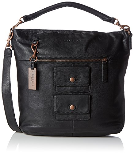Liebeskind Berlin Fenja Hobo Bag, Black, One Size