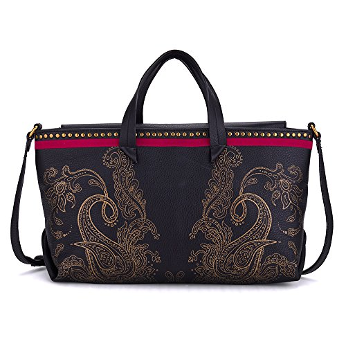 Elliott Lucca Artisan Solene Tote Top Handle Bag