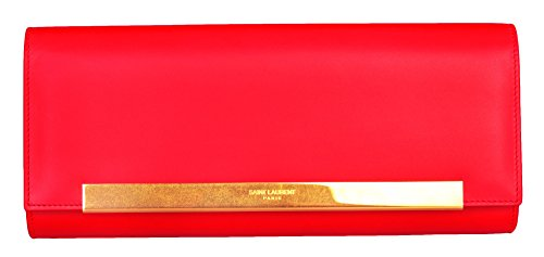 Saint Laurent Women Clutch Red 324826BOR0J-383