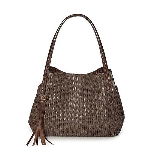 Eric Javits Designer Women's Aura Handbag (Caper)