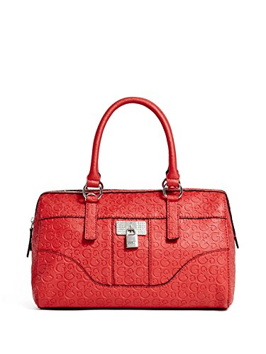 GUESS Women's Abelia Logo-Embossed Satchel