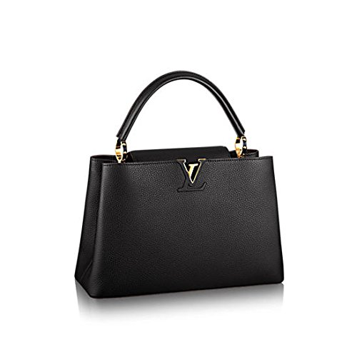 Louis Vuitton Capucines MM Noir Taurillon Leather M48864