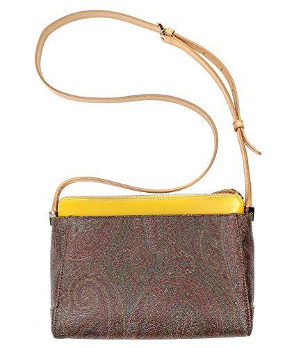 Wiberlux Etro Women's Paisley Long Strap Layered Bag