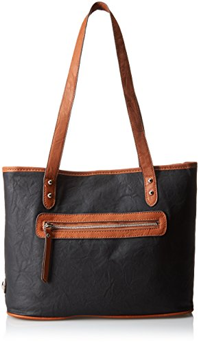 Rosetti Tote It All Shoulder Bag, Black, One Size