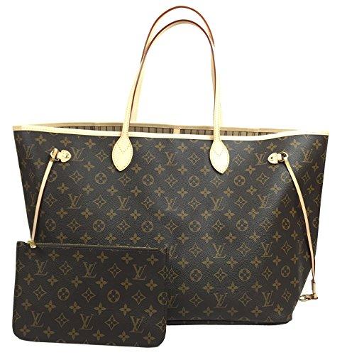 Louis Vuitton Neverfull GM Monogram Beige M40990 Handbag
