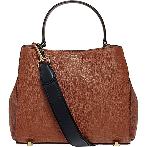 2015 AW MCM Authentic CORINA LEATHER Small Shoulder Bag – Ginger Bread MWS5ACN02NE