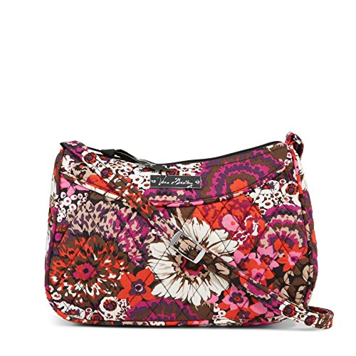 Vera Bradley Little Crossbody in Rosewood