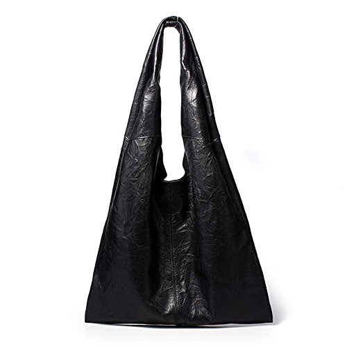 Kattee Women's Simple Design Soft Leather Hobo Shoulder Bag