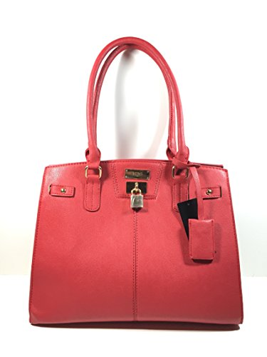 Bcbg Paris CHIC STORY LOCK -Tote Bag , Big Size, 2015 Line (RED)