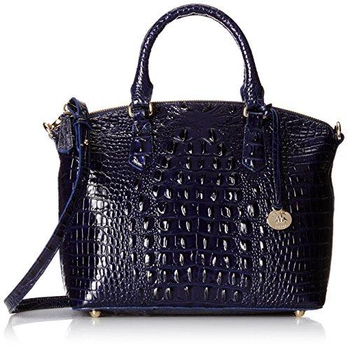 Brahmin Duxbury Satchel Convertible Top Handle Bag, Ink, One Size