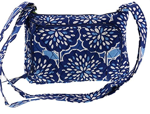 Vera Bradley Little Hipster Hip Bag Handbag Convertible Shoulder Crossbody Bag Satchel Purse in Petal Splash