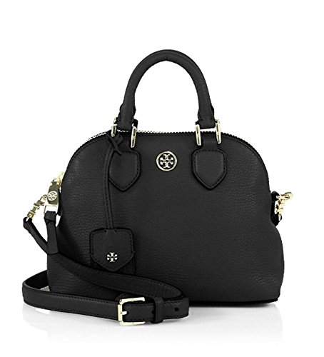 Tory Burch Robinson Mini Pebbled Leather Dome
