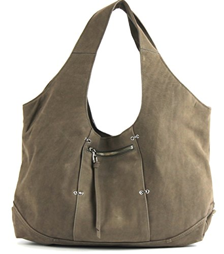 Kooba Owen Hobo Handbag in Grey