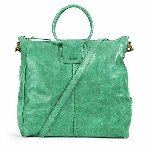 HOBO Sheila Oversized Cross-Body Handbag, Mint