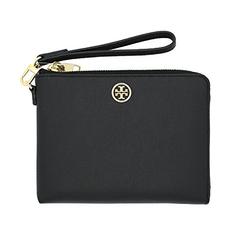 Tory Burch Roslyn Large Wristlet Black